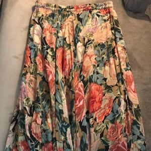 Cold water creek full skirt